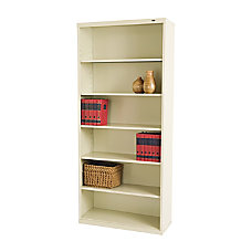 Tennsco Metal 6 Shelf Bookcase 78
