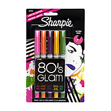 Sharpie 80s Glam Permanent Markers Ultra