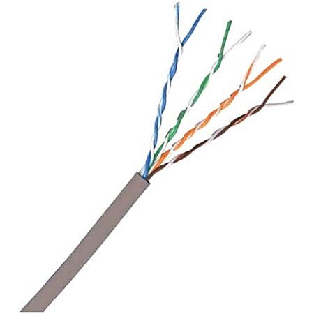 comprehensive cat 5e plenum 350mhz solid grey bulk cable