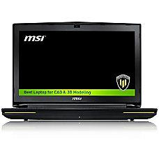 MSI WT72 6QJ 200US 173 Performance