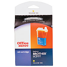 Office Depot Brand R LC31YS Brother
