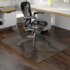 Deflect o Nonstudded EconoMat Chairmat Uncarpeted