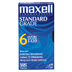 Maxell Video Tape GX Silver 120