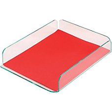 Deflect o Glasstique Letter Size Desk