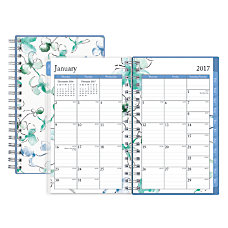 Blue Sky Fashion WeeklyMonthly Pocket Planner