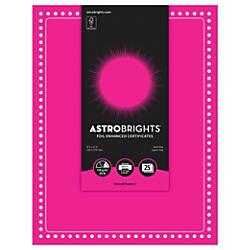 Astrobrights Foil Enhanced Certificates Dots Design