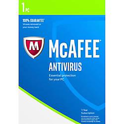 McAfee AntiVirus 2017 For 1 Device