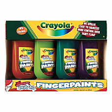 Crayola Washable Finger Paint 5 Oz