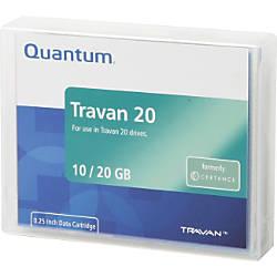 Certance CTM20 3 Travan 20 Data