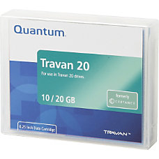 Certance CTM20 3 Travan 20 Data