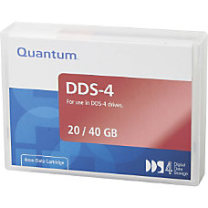 Quantum DDS 4 Tape Cartridge