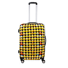 ful Emoji ABS Upright Rolling Suitcase