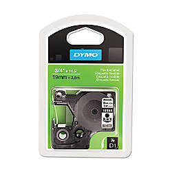 Dymo Nylon Fabric Tape Cartridge 075