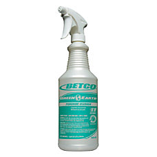 Betco Empty Green Earth Peroxide Spray