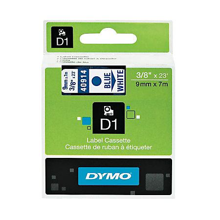 Dymo D1 Electronic Label Maker Tape X 23 Blue