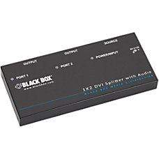 Black Box DVI D Splitter with