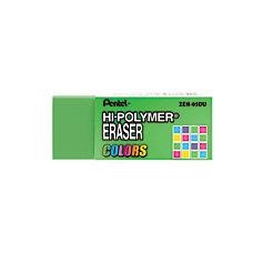 Pentel Hi Polymer Erasers Assorted Colors