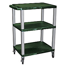 H Wilson 3 Shelf Plastic Specialty