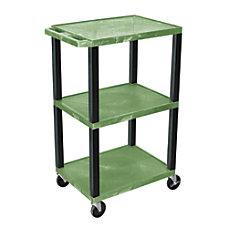 H Wilson 42 Plastic Utility Cart