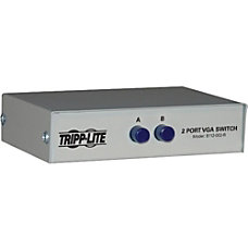 Tripp Lite 2 Port Manual VGASVGA