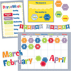 Creative Teaching Press HexaFun Calendar Set