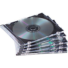 Fellowes Slim Jewel Cases 25 Pack