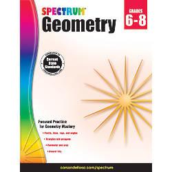 Spectrum Geometry Workbook Grades 6 8