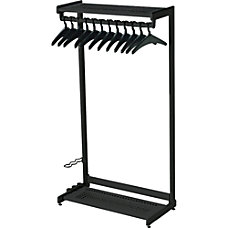Quartet Garment Rack With Hangers 12