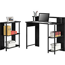 Altra Wood Computer Desk And Bookcase