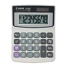 Canon LS 82Z Handheld Basic Calculator