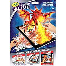 Crayola Color Alive Mythical Creatures Virtual