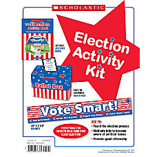 Scholastic Election Activity Kit Grades 1