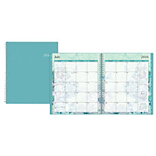 Blue Sky Wire O Monthly Planner