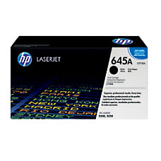 HP 645A Black Original Toner Cartridge
