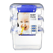 Sistema Klip It Food Storage Containers