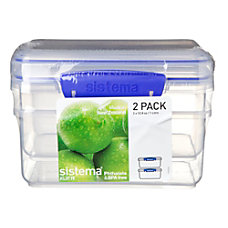 Sistema Food Storage 1 Liter Pack