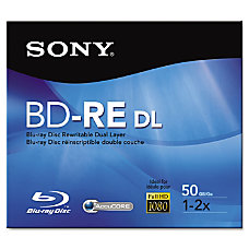 Sony 2x BD RE Double Layer