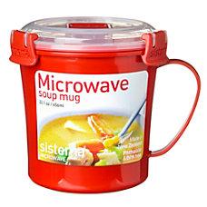 Sistema Soup Mug Red