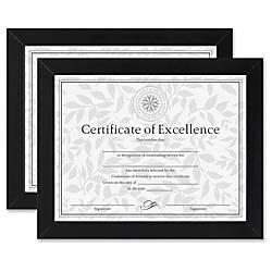 Dax Linen Insert Certificate Mahogany Frame