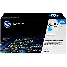 HP 645A Cyan Original Toner Cartridge