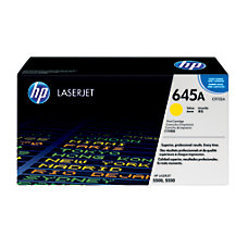 HP 645A Yellow Original Toner Cartridge