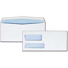 Quality Park Double Window Envelopes 9