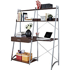 Altra Wood Computer Desk Ladder With