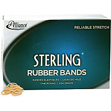 Alliance Sterling Rubber Bands Size 8