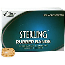 Alliance Sterling Rubber Bands 12 Size