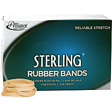 Alliance Sterling Rubber Bands 62 Size