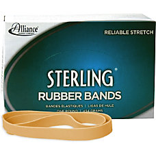 Alliance Sterling Rubber Bands 105 Size
