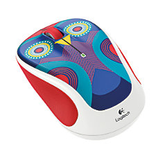 Logitech M325c Wireless Mouse Owl