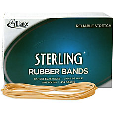 Alliance Sterling Rubber Bands 117B Size