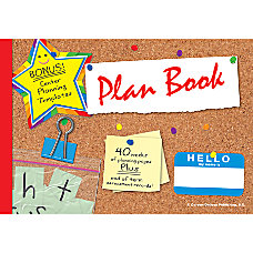 Carson Dellosa The Deluxe Plan Book